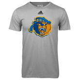 Adidas Climalite Sport Grey Ultimate Performance Tee-Highlander Bear