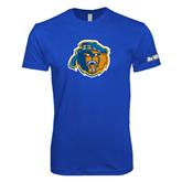Next Level SoftStyle Royal T Shirt-Highlander Bear