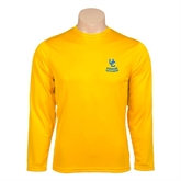 Performance Gold Longsleeve Shirt-UC Riverside Athletic Association