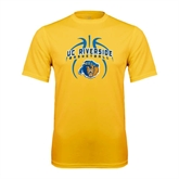 Syntrel Performance Gold Tee-Graphics inside Basketball