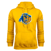 Gold Fleece Hoodie-Highlander Bear