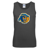 Charcoal Tank Top-Highlander Bear