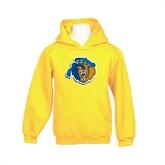 Youth Gold Fleece Hoodie-Highlander Bear