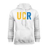 White Fleece Hoodie-UCR