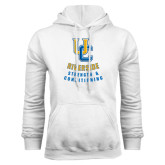White Fleece Hoodie-UC Strength & Conditioning