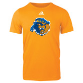 Adidas Gold Logo T Shirt-Highlander Bear