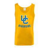 Gold Tank Top-Interlocking UC Riverside