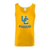 Gold Tank Top-Interlocking UC Riverside