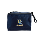 Six Pack Navy Cooler-Interlocking UC Riverside