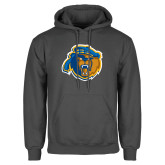 Charcoal Fleece Hoodie-Highlander Bear