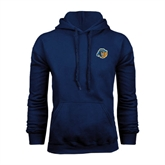 Navy Fleece Hood-Highlander Bear