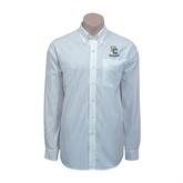 Red House White Long Sleeve Shirt-Interlocking UC Riverside