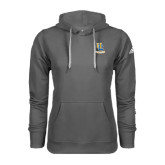 Adidas Climawarm Charcoal Team Issue Hoodie-Interlocking UC Riverside