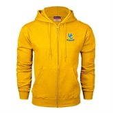 Champion Gold Fleece Full Zip Hood-Interlocking UC Riverside