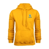 Gold Fleece Hoodie-Interlocking UC Riverside