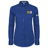 Ladies Royal Twill Button Down Long Sleeve-UCR