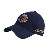 Navy Heavyweight Twill Pro Style Hat-Highlander Bear