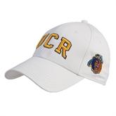 White Heavyweight Twill Pro Style Hat-UCR