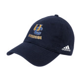 Adidas Navy Slouch Unstructured Low Profile Hat-Interlocking UC Riverside