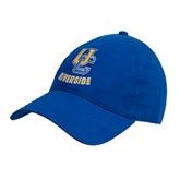 Royal Twill Unstructured Low Profile Hat-Interlocking UC Riverside