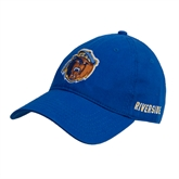 Royal Twill Unstructured Low Profile Hat-Highlander Bear