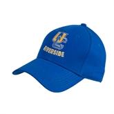 Royal Heavyweight Twill Pro Style Hat-Interlocking UC Riverside