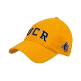 Gold Twill Unstructured Low Profile Hat-UCR