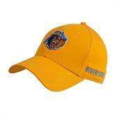 Gold Heavyweight Twill Pro Style Hat-Highlander Bear