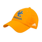 Adidas Gold Slouch Unstructured Low Profile Hat-Interlocking UC Riverside