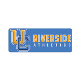 Small Magnet-Interlocking UC Riverside Side Version, 6 inches wide