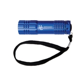 Industrial Triple LED Blue Flashlight-Interlocking UC Riverside Side Version Engraved