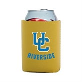 Neoprene Gold Can Holder-Interlocking UC Riverside