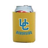 Collapsible Gold Can Holder-Interlocking UC Riverside