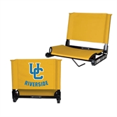 Stadium Chair Gold-Interlocking UC Riverside