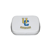 White Rectangular Peppermint Tin-Interlocking UC Riverside
