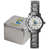 Mens Stainless Steel Fashion Watch-Interlocking UC Riverside
