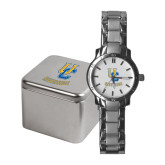 Ladies Stainless Steel Fashion Watch-Interlocking UC Riverside