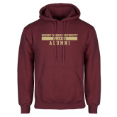 XXX Maroon Fleece Hoodie-Alumni