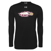 Under Armour Black Long Sleeve Tech Tee-RMU Eagle Head
