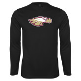 XXX Performance Black Longsleeve Shirt-Eagle Head