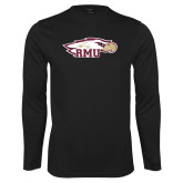 XXX Performance Black Longsleeve Shirt-RMU Eagle Head