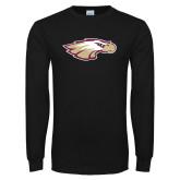Black Long Sleeve T Shirt-Eagle Head