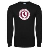 Black Long Sleeve T Shirt-Seal