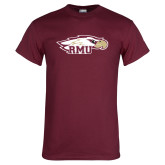 Maroon T Shirt-RMU Eagle Head