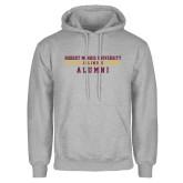 XXX Grey Fleece Hoodie-Alumni