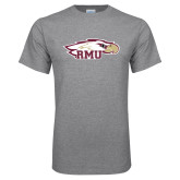 Grey T Shirt-RMU Eagle Head