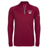 XXX Under Armour Maroon Tech 1/4 Zip Performance Shirt-Primary Mark