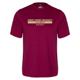 Performance Maroon Tee-Hockey