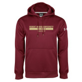 XXX Under Armour Maroon Performance Sweats Team Hoodie-Hockey