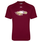 Under Armour Maroon Tech Tee-Eagle Head